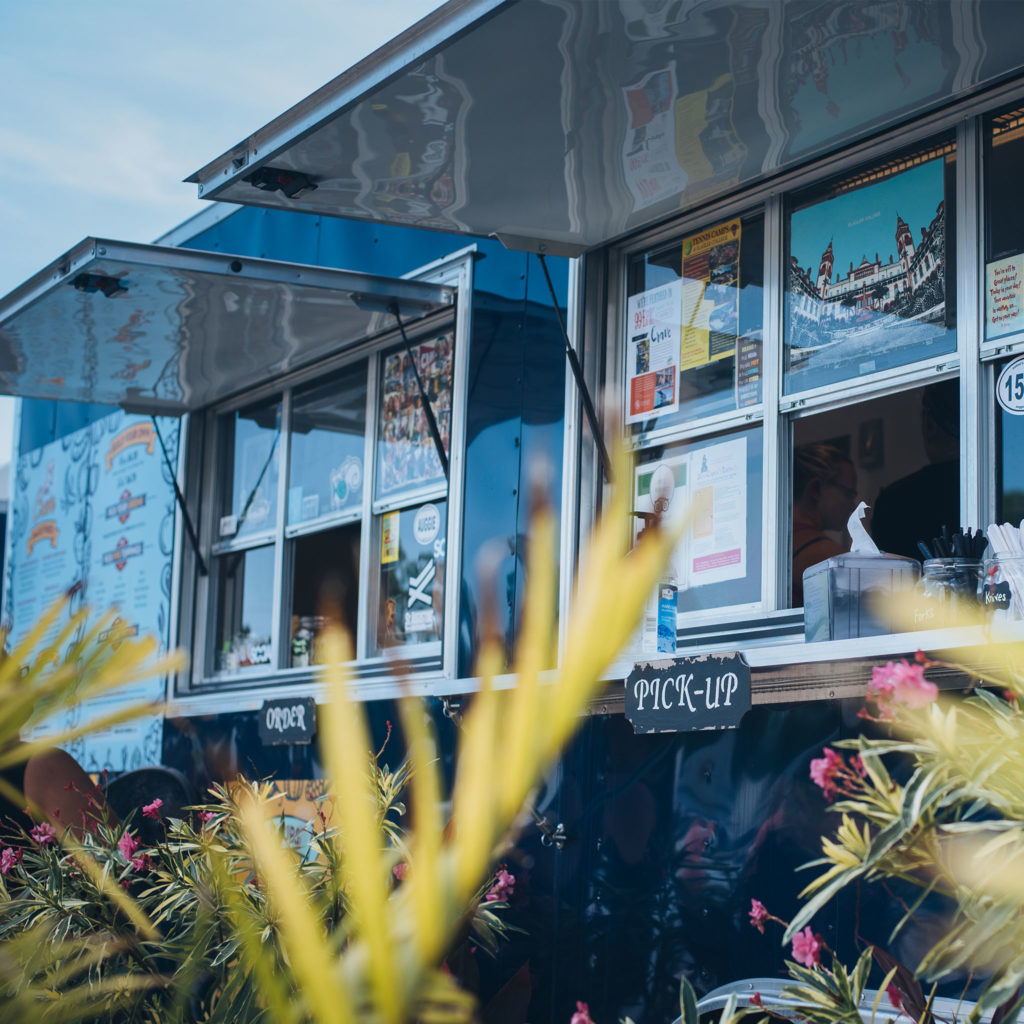 Crave Food Truck's downtown St. Augustine location.