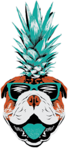 Crave dog logo